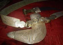 خنجر للبيع قرن زراف هندي قديمه فقط ب600 ريال