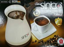 كنكة القهوة الكهربائية التركية