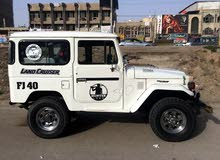 White Toyota Land Cruiser 1979 for sale