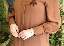 مودال جديد حجاب تركي باللونين ( الأسود،  العسلي )