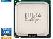 Intel Core2 Duo Processor E8400 (6M Cache, 3.00 GHz)