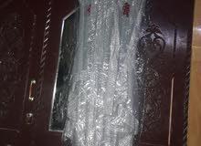 فستان فضي
