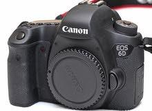 canon 6d مع عدسات