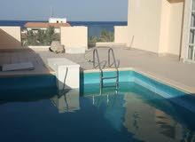 للايجار فيلا بالمسيلة البحرية دورين ونص --  مع حمام سباحة و حديقة خارجية