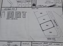 أرض سكنية في منطقة الجبيه بولاية عبري