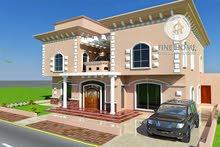 للبيع فيلا 11 غرفه علي زاويه في منطقه الزعاب . ابوظبي