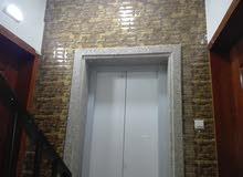 شقة للبيع طابقية طابق كامل رواف 230 م مدخلين لشقة إطلالة دائما  ( مصعد )