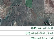 ارض استثمارية للبيع في جرش