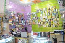 محل موبايلات كامل من كلشي مكان المحل ( البصرة - شط العرب - الجزيرة - شارع اليوبا