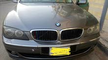 BMW 750 2007 For sale - Grey color