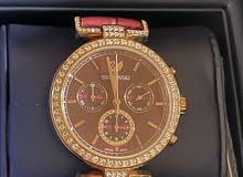 Swarovski watch red ruby with rose gold