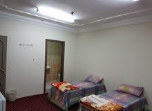 غرف مفروشه للايجار السنوى