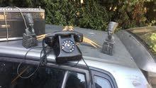 انتيك قديم للبيع تلفون ونفرتيتي 2طوؤس نحاس قديم 2وراديو قديم