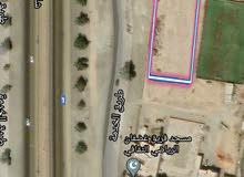 أرض للإيجار تجارية وسكنية مقابل الشارع العام الخط الأول مقابل وكالة بهوان بفريق