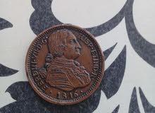 فطعة نفدية اسبانسا  1816