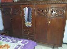 غرفة نوم صاج عراقي 7 قطع
