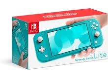 avalible Nintendo switch console and games delivery avalible