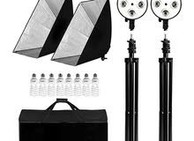 complete Softbox/lighting kit for videos and photos