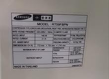 ثلاجه Samsung مستعمله بحالة جيد جدا