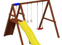 مستلزمات حضانات مجمعات العاب خشبيه العاب حدائق العاب مرجيحة مريحه playground outdoor