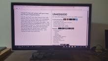 شاشة سامسونج حجم 40 بوصة سمارت full hd 3d مع نظارتين و apple tv