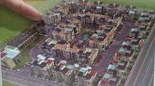 شقة 161م نصف تشطيب جاهزة للتسليم، كومبوند مكة، بنى سويف الجديدة