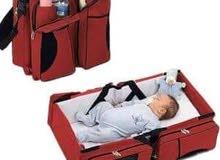 سرير  وحقيبه 2 ب 1 الطفل المتنقلة