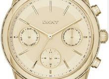 ساعة DKNY جديدة كفالة سنتين مع علبتها الأصلية سعرها الاصلي73 الان 37