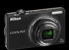 كاميرا نيكون ديجيتل مستعمل نضافة95% السعر 150الف