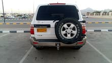 White Toyota Land Cruiser 1998 for sale