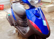 New Yamaha motorbike in Baghdad