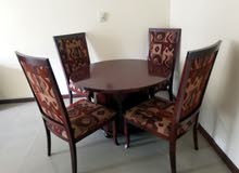 Table and chair good condition