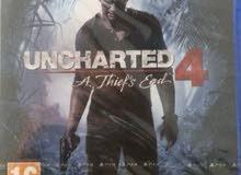 Uncharted 4 Ps4  جديدة للبيع