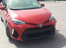Toyota Corolla 2017 For sale - Red color