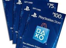 كروت ستور أمريكي للبيع psn gift card