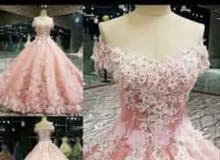 فستان عروس ملبوس مرة للبيع