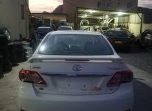 للبيع قطع غيار سياره كرولا 2012