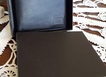 محفظة جيس guess جلد طبيعي