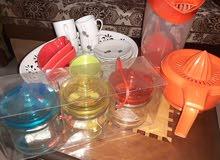 مجموعة ادوات مطبخ نظيفة