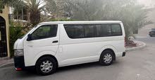 Toyota Hiace car is available for a Year rent