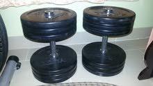 2 Set of Dumbells Total 60 KG Excellent Condition