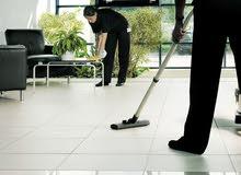 مطلوب عامل نظافة متمرس وله خبرة بالتنظيف (عنصر رجالي فقط)