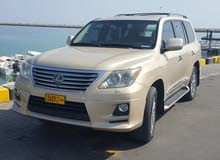 Lexus LX 2010 For sale - Gold color