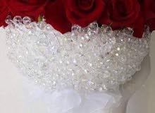 مسكة اعراس جديدة كريستال اصلي