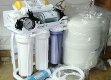 فلتر ماء 6 مراحل مع خزان وحنفيه فقط 800 درهم مع التركيب والتوصيل