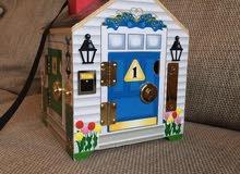 لعبة doorbell house التعليمية