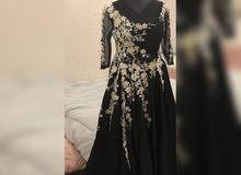 فستان سهره جديد مستعمل لبستين فقط