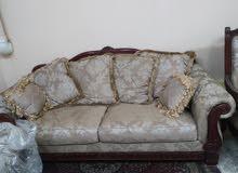 صالون كنبه 3 + 2 كرسي + 3 تربيزه (من بيت كاشان للاثاث)