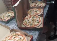 سطا بيتزا ومعجنات  بجميع   انواعها  باقات  ليباني  كورني لفايف  مقلوب