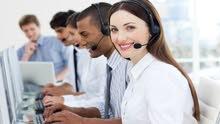 مطلوب للعمل فورا موظفين كول سنتر للعمل في كبرى الشركات وفنادق 5 نجوم